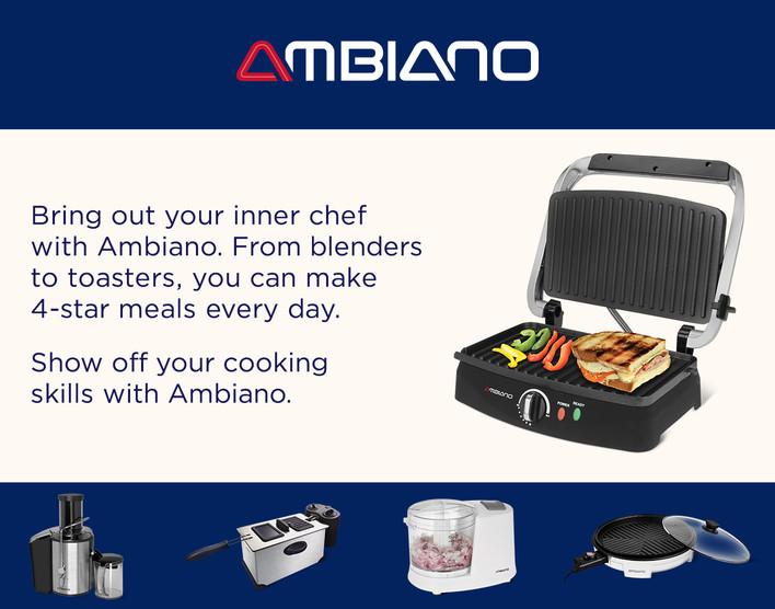 Ambiano Small Kitchen Appliances