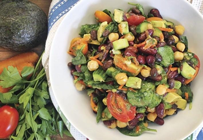 SimplyNature Garden Bean Salad