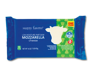 Happy Farms Mozzarella Cheese