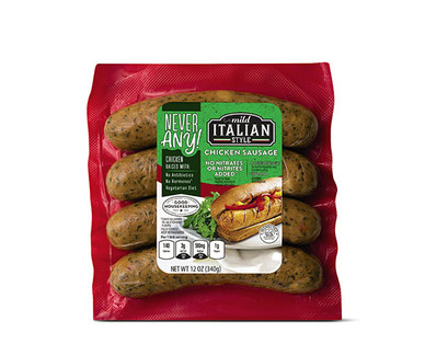 Never Any! Mild Italian Chicken Sausage