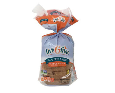 liveGfree Wide Pan Gluten Free Bead Whole Grain