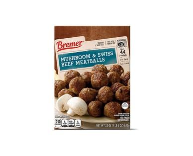 Bremer Buffalo Style Chicken or Mushroom & Swiss Beef Meatballs View 2