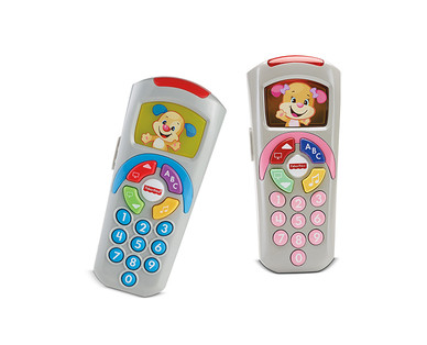 Fisher-Price Bright Beats Bo or Belle, Laugh & Learn Remote or Fidget Cube View 2
