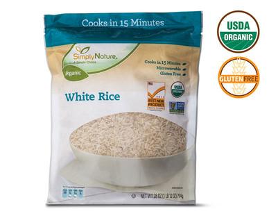 Simply Nature Organic White Rice
