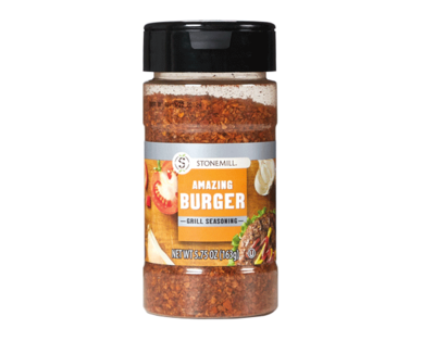 Stonemill Amazing Burger Grill Seasoning