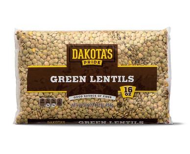 Dakota's Pride Green Split Peas or Green Lentils View 2