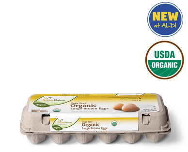 SimplyNature Organic Cage Free Brown Eggs