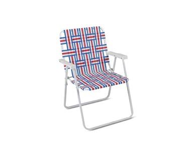 Gardenline Folding Web Chair Aldi Us