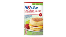 Fit and Active Canadian Bacon Breakfast Sandwiches. View Details.