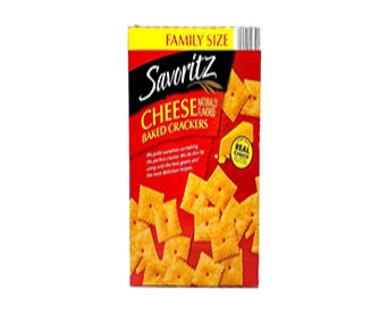 Savoritz Family Size Cheese Crackers