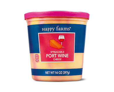 Happy Farms Port Wine Spreadable Cheese Cup