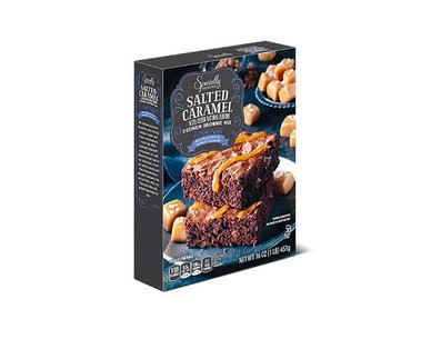 Specially Selected Premium Brownie Mix - Salted Carmel