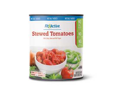 Fit & Active No Salt Added Stewed Tomatoes