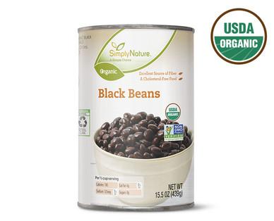 SimplyNature Organic Black Beans