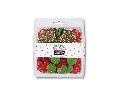 Heart to Tail Mini Frosted Holiday Dog Treats View 2