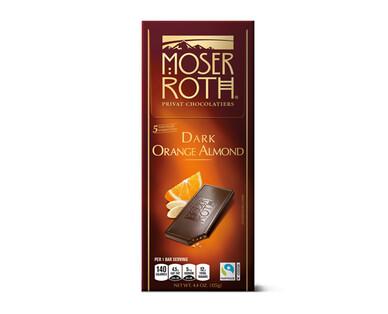 Moser Roth Dark Chocolate Orange Bar