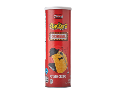 Clancy's Stackerz Original Potato Crisps