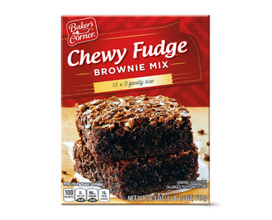 Baker's Corner Fudge Brownie Mix