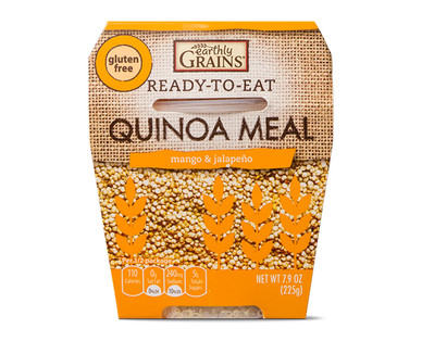 Earthly Grains Ready-To-Eat Mango & Jalapeno Quinoa Meal