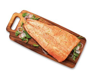 Fresh Atlantic Salmon Side