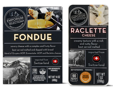 Emporium Selection Swiss Cheese Fondue & Raclette