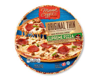Mama Cozzi's Pizza Original Thin Crust Supreme Pizza