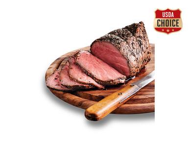 Fresh USDA Choice Beef Sirloin Top Roast View 1