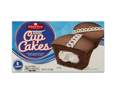 Baker'sTreat Chocolate Cupcakes