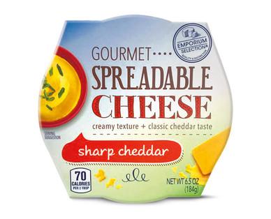 Emporium Selection Sharp Cheddar Gourmet Spreadable Cheese