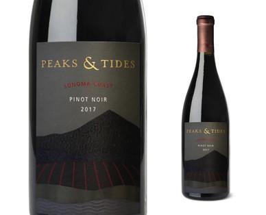 Peaks & Tides Sonoma Coast Pinot Noir