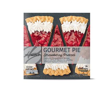 Belmont Strawberry Pretzel Pie