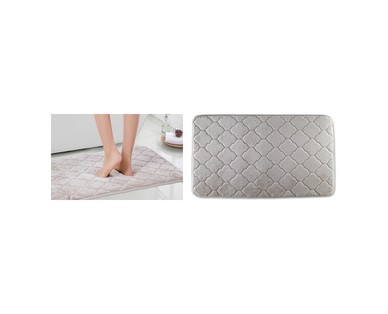 "Huntington Home 20"" x 34"" Memory Foam Bath Mat View 1"
