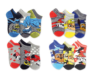 Licensed Toddler and Children's 3-Pack Socks View 1