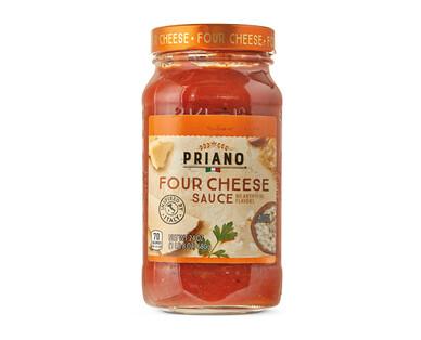 Priano Gourmet Four Cheese Pasta Sauce