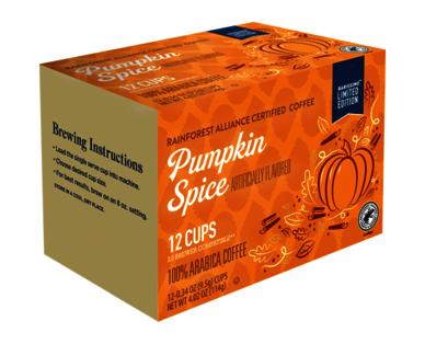 Barissimo Pumpkin Spice Flavored Coffee Cups