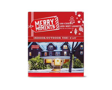Merry Moments 150-Count LED Net Lights View 1