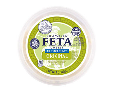 Emporium Selection Reduced Fat Feta Cheese Crumbles