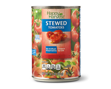 Happy Harvest Stewed Tomatoes
