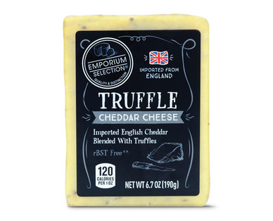 Emporium Selection Truffle Cheddar Cheese