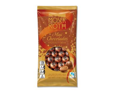 Moser Roth Hazelnut Creme Mini Chocolades