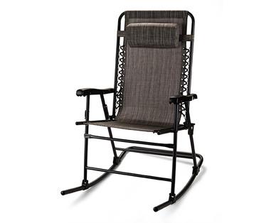 Gardenline Folding Rocking Chair  sc 1 st  Aldi & Gardenline Folding Rocking Chair | ALDI US