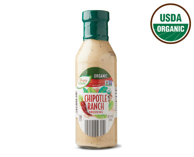 Simply Nature Organic Chipotle Ranch Dressing