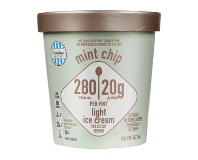 Sundae Shoppe Mint Chip High Protein Ice Cream
