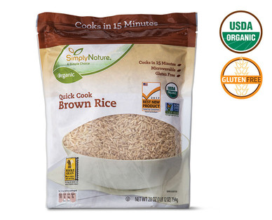 Simply Nature Organic Quick Cook Brown Rice
