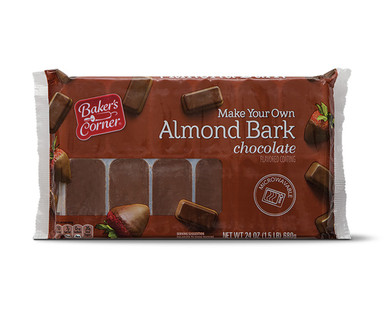 Baker's Corner Chocolate Almond Bark