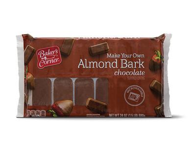 Baker's Corner Chocolate Almond Bark