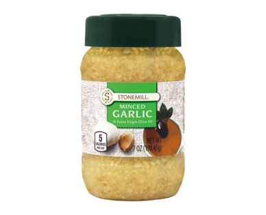 Stonemill Minced Garlic in Pure Olive Oil