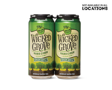 Wicked Grove Green Apple Hard Cider Cans