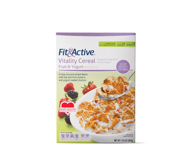 Fit & Active® Fruit & YogurtVitality Cereal