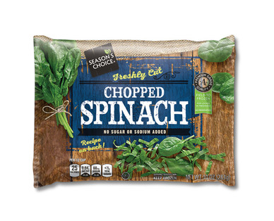 Season's Choice Chopped Spinach
